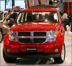 The 2007 Dodge Nitro, along with the 2007 Jeep Wrangler, may have a defect that could cause the engine to stall.