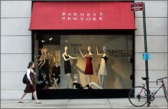 Jones Apparel has received several offers for Barneys, both bids are more than double what it paid in December 2004.