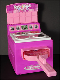 The Easy-Bake Oven, on toy store shelves for more than 40-years, was inducted into the National Toy Hall of Fame in 2006.
