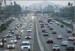 "Riverside, Calif., tops the  ""Forbes""   list of most unhealthy commutes, followed by Atlanta, Los Angeles, Houston and Washington, D.C."