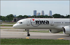 Northwest CEO Doug Steenland blamed cancellations mostly on increased pilot absenteeism.