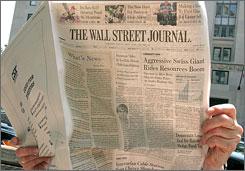 Rupert Murdoch's bid for Dow Jones gives News Corp. control of 'The Wall Street Journal', 'Barron's' and Marketwatch.com.