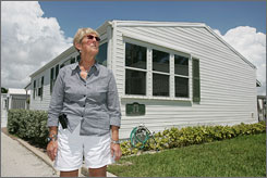 """I was willing to take the money,"" says Nancy Boczon, town clerk of Briny Breezes, Fla."