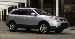 Hyundai's 2008 Veracruz is mechanically identical to the '07. The only changes are a few more available options and the way some features and options are packaged.