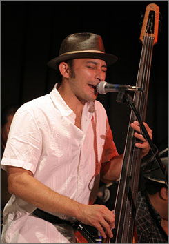 Jangl co-founder Michael Cerda is also ina Latin jazz band, El Desayuno.   
