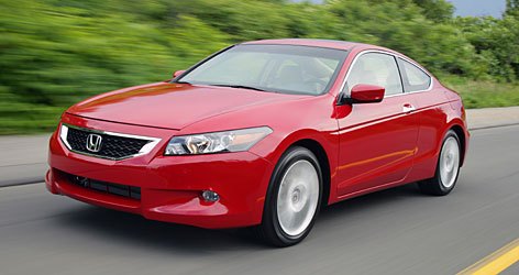 The 2008 Honda Accord coupe offers a sporty, surprisingly spacious ride and comes with plenty of standard features.