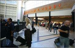 Houston's Hobby airport ranks as the No. 1 small airport in customer satisfaction, according to J.D. Power and Associates.