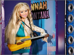 Few toys are hotter this holiday season than the Hannah Montana line from Play Along.