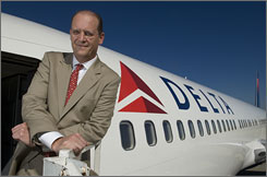 Richard Anderson, CEO of Delta, began climbing the corporate ladder after quitting his prosecutor's job in Houston.