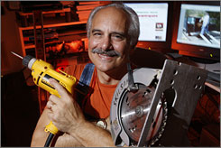 Jerry Alonzy's Natural Handyman website produces $120,000 a year in income from little ads that Google places on his Web pages.