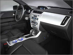 The new Focus lets you choose the interior lighting.