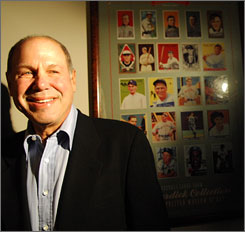 """There's no reason why there can't be Topps movies, Topps Internet, Topps television, Topps miniseries and Topps publications,"" former Disney CEO Michael Eisner says."