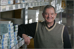 Lyle Kenaga's Nashville company, Business Cards Tomorrow, used to pay 100% of employees' premiums but now pays just 70% in an effort to reduce the impact of rising health costs.