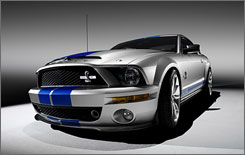 Ford is planning yet another special-edition Mustang: the 2008 Ford Shelby GT500 KR. The KR stands for King of the Road.