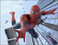 Columbia Pictures' Spider-Man 3 with Tobey Maguire had a record $151.1M opening weekend.