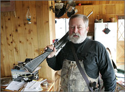 Avid hunter Pete Wagner of Arizona is among those boomers who would rather take reduced benefits now than wait for full benefits at 66.
