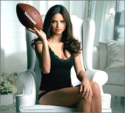 Supermodel Adriana Lima stars in the Victoria's Secret ad that will air in the Super Bowl on Feb. 3.
