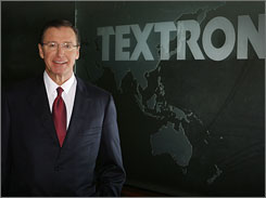 Textron CEO Lewis Campbell, 61, is a staunch advocate of the Six Sigma problem-solving method.