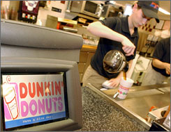 Dunkin' Donuts is taking its goodies to Shanghai.