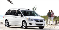 Volkswagen's Routan goes on sale in September.