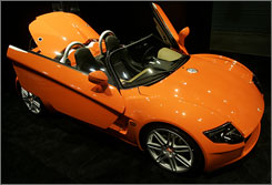 The standard Yes! Roadster 3.2, coming to North America this summer from Germany, starts at just under $78,000.