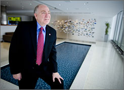 Johnson Controls CEO Stephen Roell discounts speculation of a recession and sees &quot;double-digit growth opportunities across a wide spectrum.&quot;