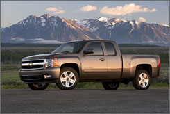 The Chevrolet Silverado earned top marks from Consumer Reports in the pickup category.