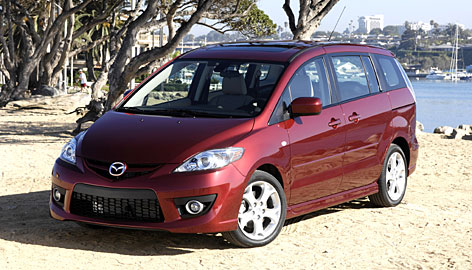 Mazda5, the only mini-minivan on the market, features some quality touches in its tight package.