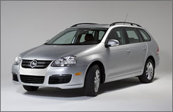 Volkswagen Jetta TDI offers a three-liter, four-cylinder turbocharged direct-injection engine equipped with the clean diesel engine option for a 30% increase in fuel economy over today's model. 