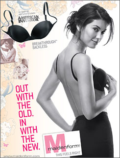 A Nashville mom's invention of a backless bra is catching on, with Maidenform marketing the idea.