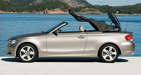 BMW's 1 Series, which comes in convertible or coupe versions, delivers holy-moly power at high speeds yet doesn't slurp that much gas in around-town driving. 