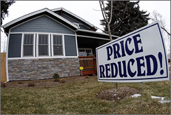 Home buyers with good credit have a lot of homes to choose from as many sellers are being forced to reduce their prices.