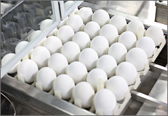 Egg prices have risen 34.8% in the past 12 months to $2.20 a dozen, according to government figures.