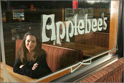 Julia Stewart is CEO of IHOP, which recently bought the struggling Applebee's casual dining chain.