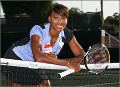 Tennis star Venus Williams partners with PowerAde Zero in new ads. Her favorite flavor? Grape.