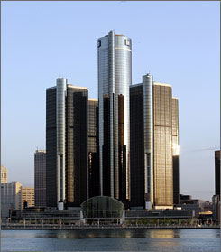 GM moved into the Renaissance Center in 1996. The complex along the Detroit River opened  in 1977.