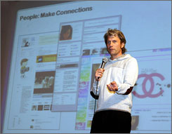 Chris DeWolfe is CEO of MySpace, one of the Big Three among social networks. Facebook and LinkedIn are the others.