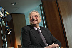 Fnancier George Soros is also an author. His latest book is The New Paradigm for Financial Markets: The Credit Crisis of 2008 and What It Means.