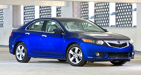 Acura  on Up For Annoying Drawbacks In The Acura Tsx  Such As Twitchy Steering
