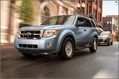 New tires and other tweaks on the Ford Escape are expected to boost fuel capability by 1 mpg.