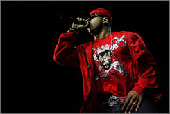 LL Cool J performing in March in Ssydney, Australia.