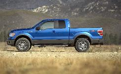 Ford wants to unload the old F-150 pickups before beginning to sell the 2009,  like the one seen here.
