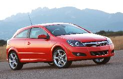 Saturn's Astra has its drawbacks, but it drives oh-so-nicely, with a light-touch clutch and dead-on steering.