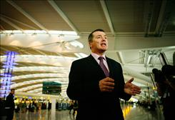 British Airways CEO Willie Walsh passed up a $1.5 million bonus this year after the botched opening in March of the ailrine's huge Heathrow terminal.