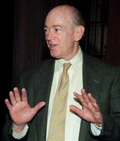 Clay Felker, founding editor of New York magazine, in 1996.
