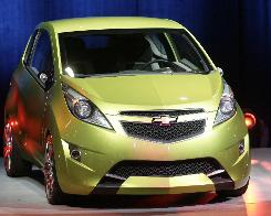 GM introduced the Chevrolet Beat concept car at the 2007 New York auto show.