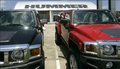 GM said Hummer is the only one of its eight U.S. brands being formally reviewed for a possible sale or shutdown as the automaker's domestic market share falls to an 83-year low.