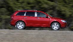 The 2009 Dodge Journey has a spacious interior, nifty styling and an optional V-6 that really scoots.