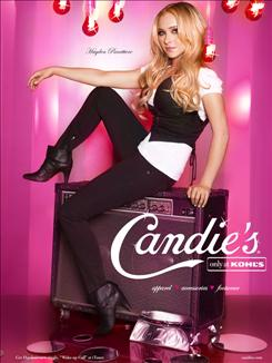 "Actress Hayden Panettiere of NBC's ""Heroes"" will be trying to sell Candie's shoes this fall in a back-to-school campaign for Iconix Brand Group."
