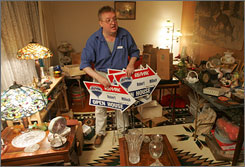 Realtor Robert Millosh prepares for an estate sale in the house he grew up in and now owns. He wants to move to a cheaper place, but the house isn't selling.